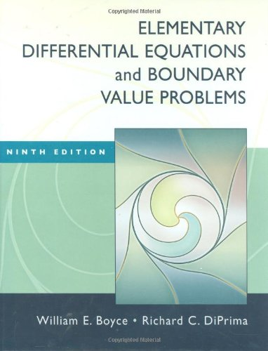 Test Bank For Elementary Differential Equations and Boundary Value Problems 9th Edition