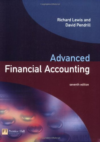 Test Bank For Advanced Financial Accounting (7th Edition) 7th Edition