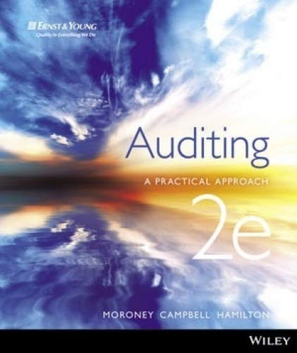 Test Bank For Auditing: A Practical Approach 2nd Edition E-Text + iStudy 2 Card (No Longer used) 2nd Edition