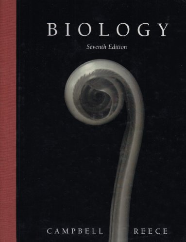 Test Bank For Biology, 7th Edition (Book & CD-ROM) 7th Edition