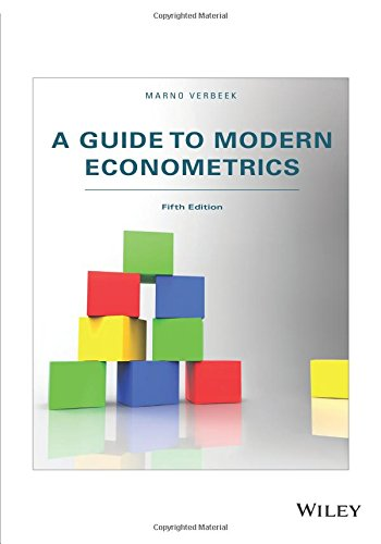 Test Bank For A Guide to Modern Econometrics 5th Edition