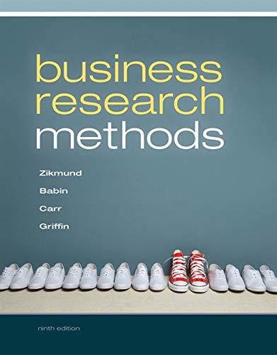 Test Bank For Business Research Methods (with Qualtrics Printed Access Card) 9th Edition
