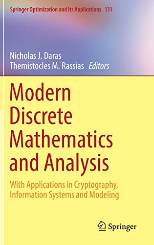 Test Bank For Modern Discrete Mathematics and Analysis: With Applications in Cryptography, Information Systems and Modeling (Springer Optimization and Its Applications) 1st ed. 2018 Edition