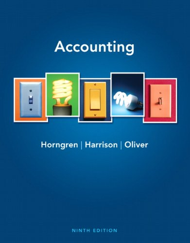 Test Bank For Accounting 9th Edition