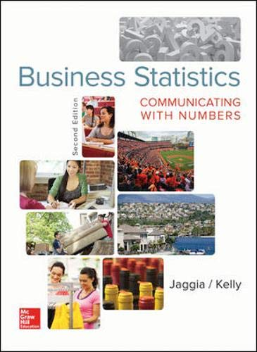 Test Bank For Business Statistics: Communicating with Numbers 2nd Edition