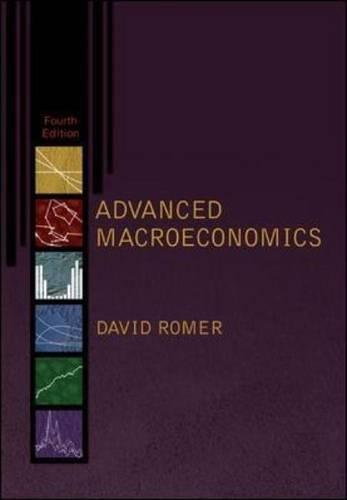 Test Bank For Advanced Macroeconomics (McGraw-Hill Series Economics) 4th Edition