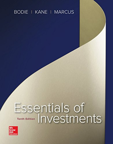 Test Bank For Essentials of Investments (The Mcgraw-hill/Irwin Series in Finance, Insurance, and Real Estate) 10th Edition