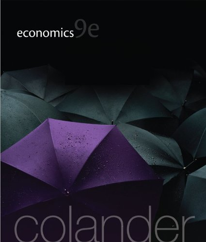 Test Bank For Economics, 9th Edition (The McGraw-Hill Series in Economics) 9th Edition