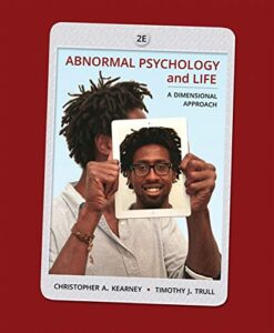 Test Bank For Abnormal Psychology and Life: A Dimensional Approach 2nd Edition