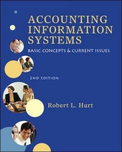 Test Bank For Accounting Information Systems 2nd Edition