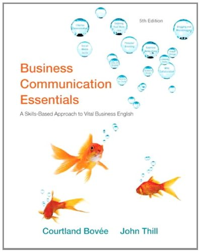 Test Bank For Business Communication Essentials (5th Edition) 5th Edition