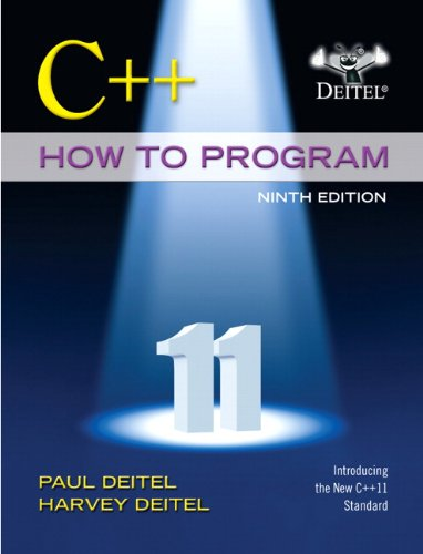 Test Bank For C++ How to Program (Early Objects Version) (9th Edition) 9th Edition