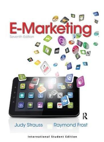 Test Bank For E-marketing: International Editions 7th Edition