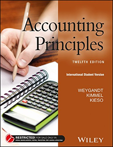 Test Bank For Accounting Principles (12th Edition) 12th Edition