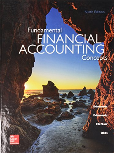 Test Bank For Fundamental Financial Accounting Concepts with Connect 9th Edition
