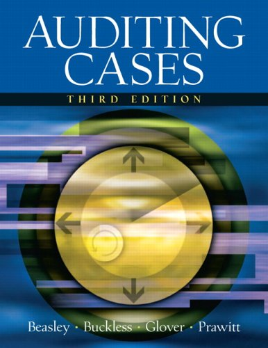 Test Bank For Auditing Cases (3rd Edition) 3rd Edition