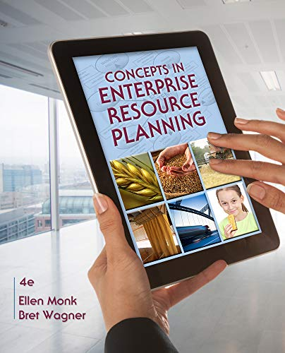 Test Bank For Concepts in Enterprise Resource Planning 4th Edition