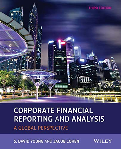 Test Bank For Corporate Financial Reporting and Analysis, 3rd Edition 3rd Edition