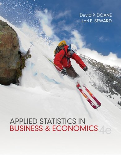 Test Bank For Applied Statistics in Business and Economics 4th Edition