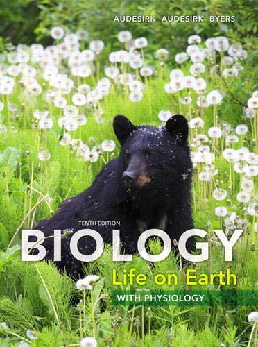 Test Bank For Biology: Life on Earth with Physiology (10th Edition) 10th Edition