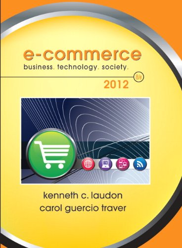 Test Bank For E-Commerce 2012 (8th Edition) 8th Edition