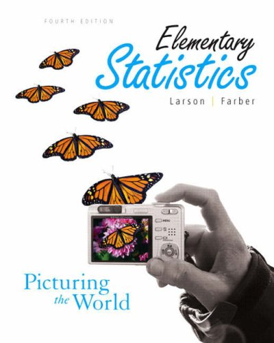 Test Bank For Elementary Statistics: Picturing the World 4th Edition