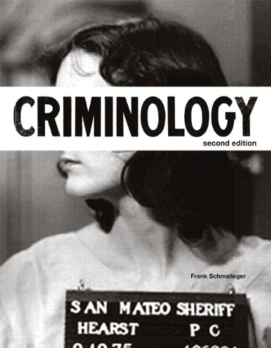 Test Bank For Criminology (2nd Edition) (The Justice Series) 2nd Edition