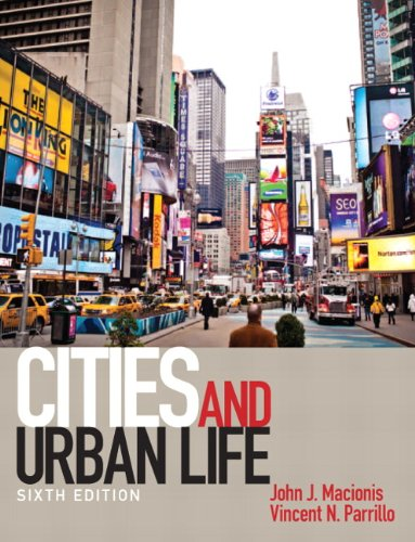 Test Bank For Cities and Urban Life (6th Edition) 6th Edition