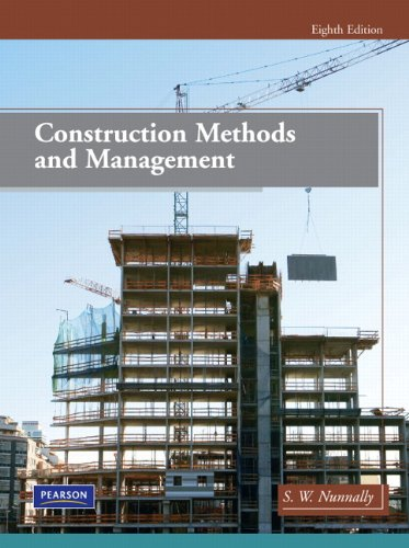 Test Bank For Construction Methods and Management (8th Edition) 8th Edition