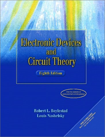 Test Bank For Electronic Devices and Circuit Theory (8th Edition) 8th Edition