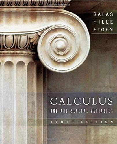 Test Bank For Calculus: One and Several Variables 10th Edition