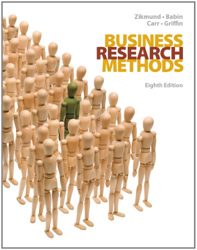 Test Bank For Business Research Methods, 8th Edition (with Qualtrics Card) 8th Edition