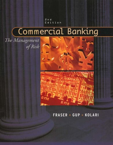 Test Bank For Commercial Banking: The Management of Risk 2nd Edition