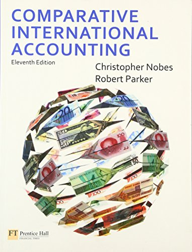 Test Bank For Comparative International Accounting (11th Edition) 11th Edition