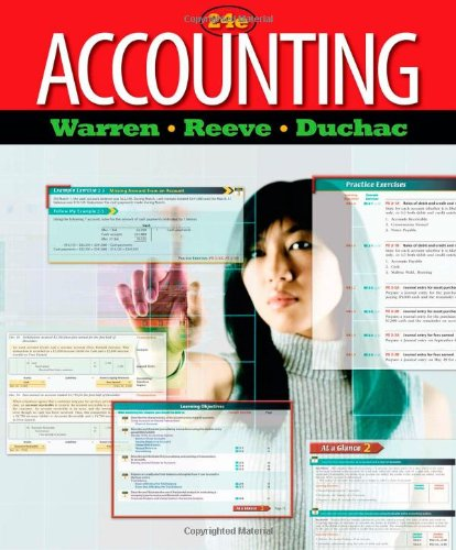 Test Bank For Accounting (Managerial Accounting) 24th Edition
