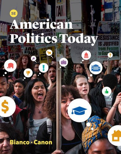 Test Bank For American Politics Today (Fifth Edition) Fifth Edition