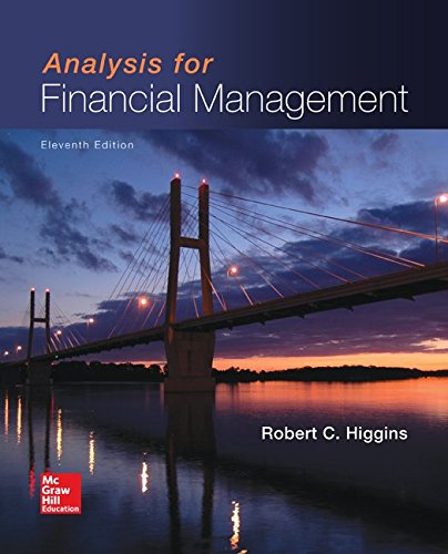 Test Bank For Analysis for Financial Management (Mcgraw-hill/Irwin Series in Finance, Insurance, and Real Estate) 11th Edition