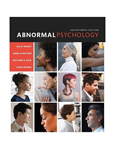 Test Bank For Abnormal Psychology (17th Edition) 17th Edition