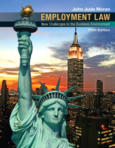 Test Bank For Employment Law (5th Edition) 5th Edition