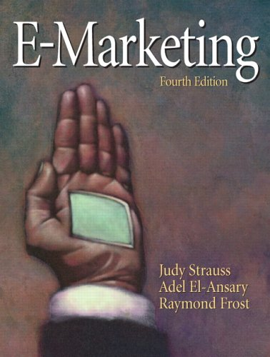 Test Bank For E-Marketing (4th Edition) 4th Edition