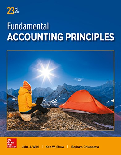 Test Bank For Fundamental Accounting Principles 23rd Edition
