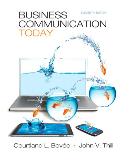 Test Bank For Business Communication Today (11th Edition) 11th Edition
