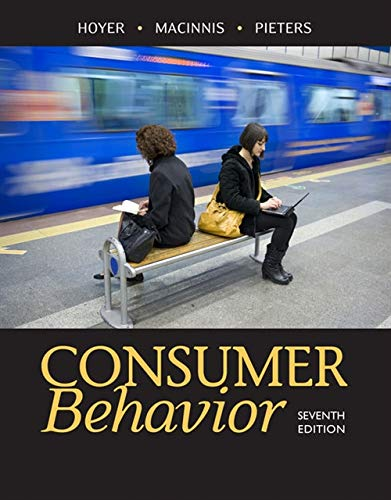 Test Bank For Consumer Behavior 7th Edition