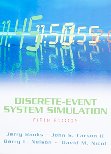 Test Bank For Discrete-Event System Simulation (5th Edition) 5th Edition