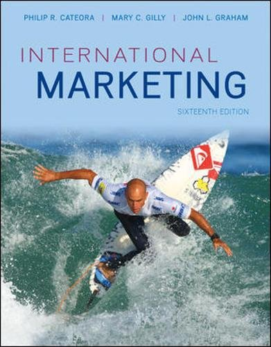 Test Bank For International Marketing 16th Edition