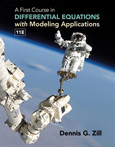 Test Bank For A First Course in Differential Equations with Modeling Applications 11th Edition