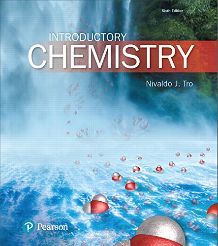 Test Bank For Introductory Chemistry Plus Mastering Chemistry with Pearson eText — Package (6th Edition) (New Chemistry Titles from Niva Tro) 6th Edition