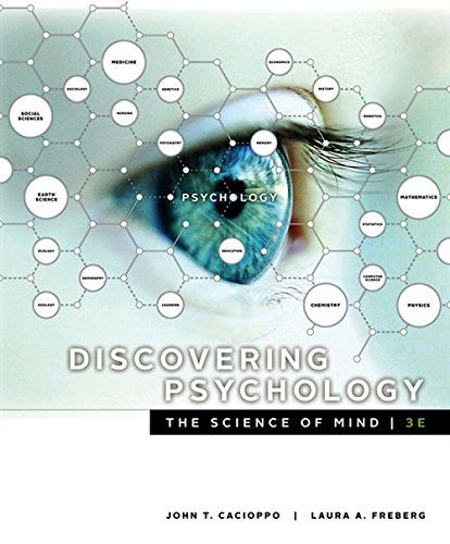 Test Bank For Discovering Psychology: The Science of Mind 3rd Edition