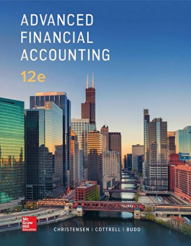 Test Bank For Loose Leaf for Advanced Financial Accounting 12th Edition