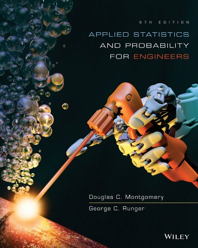 Test Bank For Applied Statistics and Probability for Engineers 6th Edition
